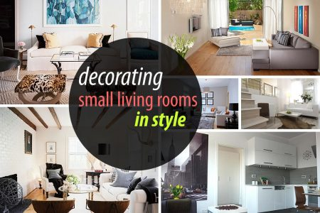 20 Decor Ideas for Small Living Space