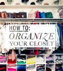 Tips for an Organized Wardrobe