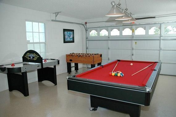 Ideas To Turn Your Garage Into A Game Room 123 Home Design