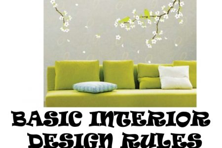 5 Interior Design Rules That We Need To Go By!