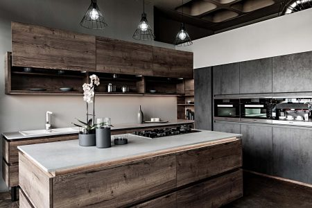 Stoic and Trendy: Bringing Stonework Indoors With Modernity