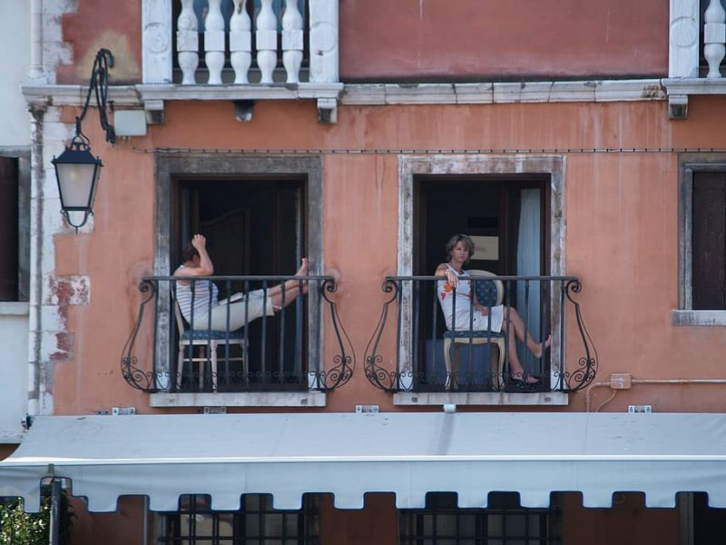 Protecting a Balcony From Prying Eyes